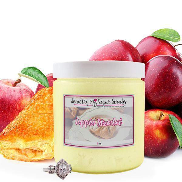 Apple Strudel 5 Pack Sugar Scrub Bundle-Jewelry Candles Bath & Body-The Official Website of Jewelry Candles - Find Jewelry In Candles!