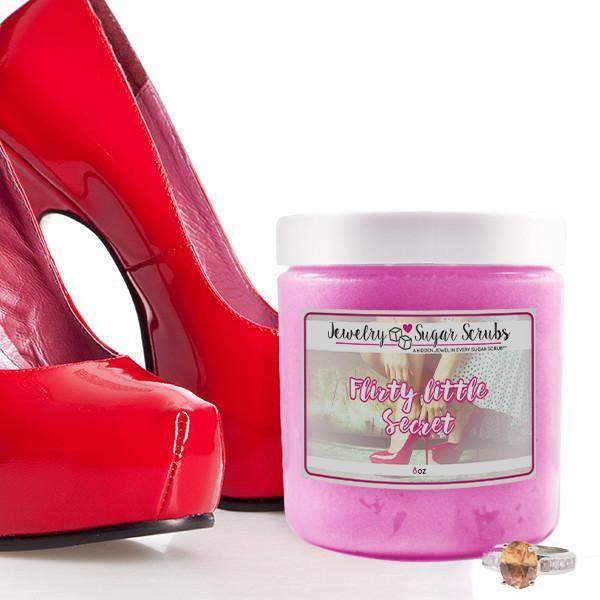 Flirty Little Secret Jewelry Sugar Scrub-The Official Website of Jewelry Candles - Find Jewelry In Candles!