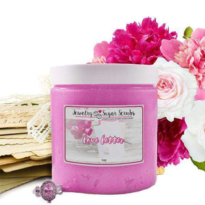 Love Letter Jewelry Sugar Scrub-The Official Website of Jewelry Candles - Find Jewelry In Candles!