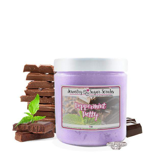 Peppermint Patty Jewelry Sugar Scrub-The Official Website of Jewelry Candles - Find Jewelry In Candles!