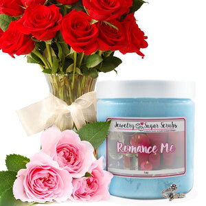 Romance Me 5 Pack Sugar Scrub Bundle-Jewelry Candles Bath & Body-The Official Website of Jewelry Candles - Find Jewelry In Candles!