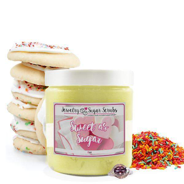 Sweet as Sugar Jewelry Sugar Scrub-The Official Website of Jewelry Candles - Find Jewelry In Candles!
