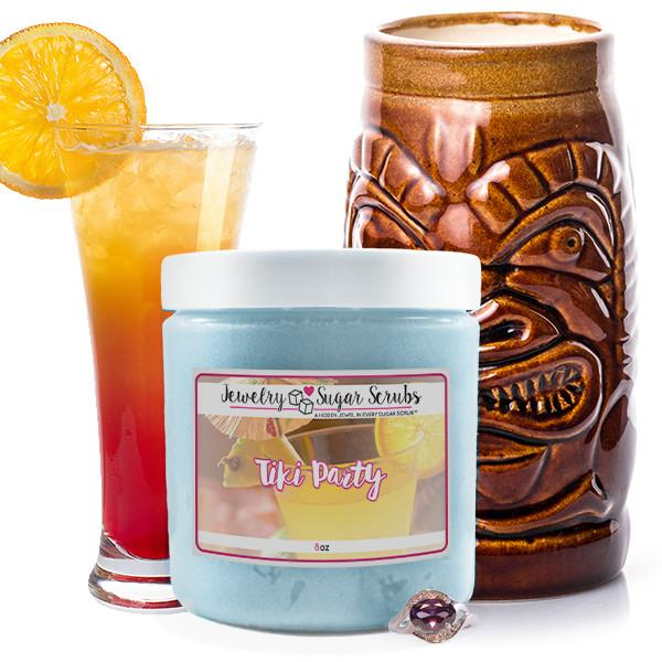 Tiki Party Jewelry Sugar Scrub-The Official Website of Jewelry Candles - Find Jewelry In Candles!