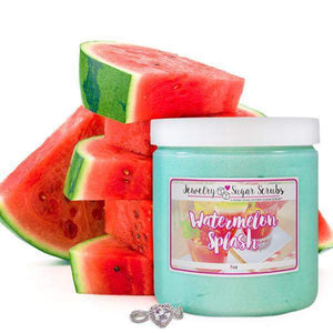 Watermelon Splash Jewelry Sugar Scrub-The Official Website of Jewelry Candles - Find Jewelry In Candles!