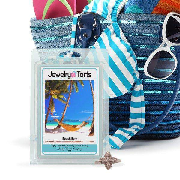 Beach Bum Jewelry Tarts (1 Tart With A Surprise Jewel!)-Jewelry Tarts-The Official Website of Jewelry Candles - Find Jewelry In Candles!