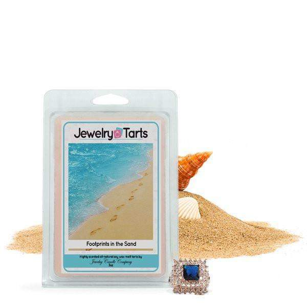 Footprints in the Sand Jewelry Tarts-Footprints in the Sand Jewelry Tarts-The Official Website of Jewelry Candles - Find Jewelry In Candles!