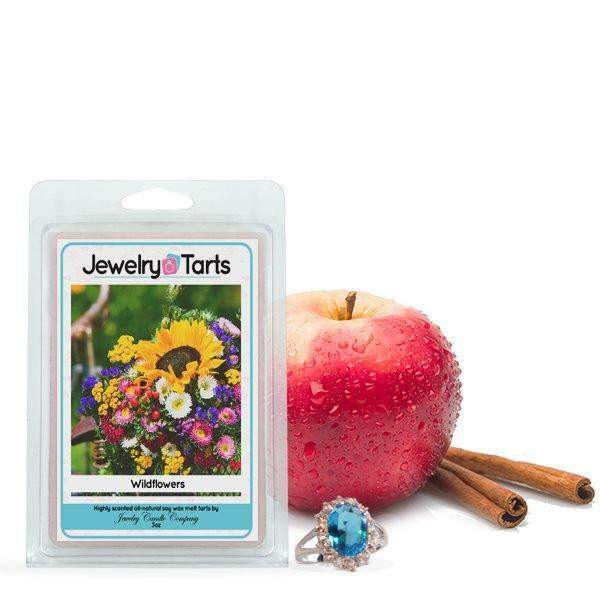 Cinnamon Apple Jewelry Tart (1 Clamshell)-Chocolate Chip Jewelry Tarts-The Official Website of Jewelry Candles - Find Jewelry In Candles!