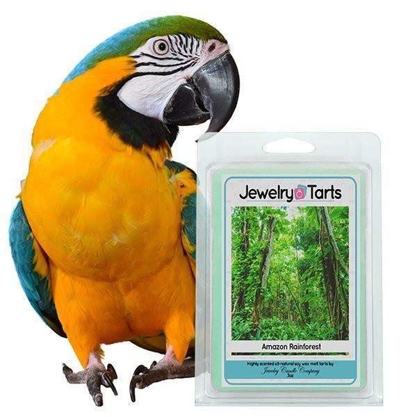 Amazon Rainforest Jewelry Tarts (1 Tart With A Surprise Jewel!)-Amazon Rain Forest Jewelry Tarts-The Official Website of Jewelry Candles - Find Jewelry In Candles!
