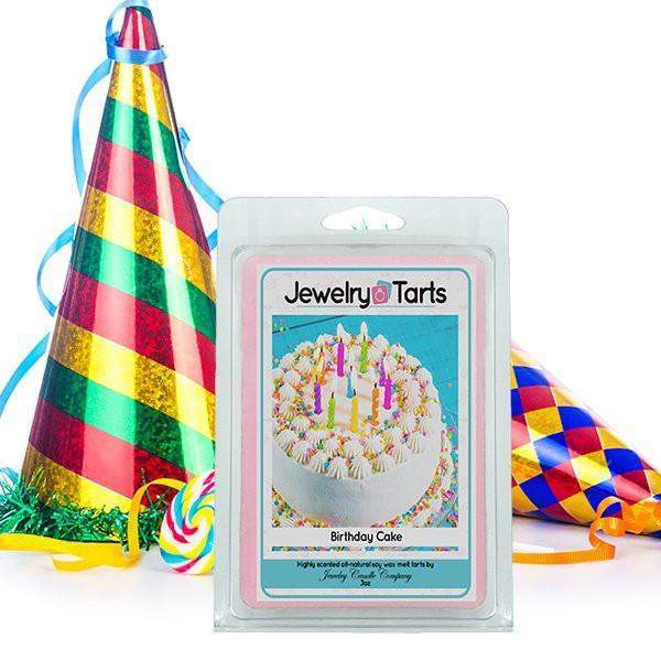 Birthday Cake Jewelry Tarts (1 Jewelry Tart WITH A Surprise Jewel!)-Jewelry Tarts With Jewelry-The Official Website of Jewelry Candles - Find Jewelry In Candles!