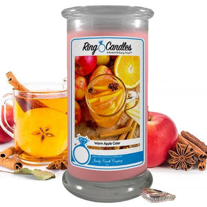Warm Apple Cider | Ring Candle®-Ring Candles-The Official Website of Jewelry Candles - Find Jewelry In Candles!