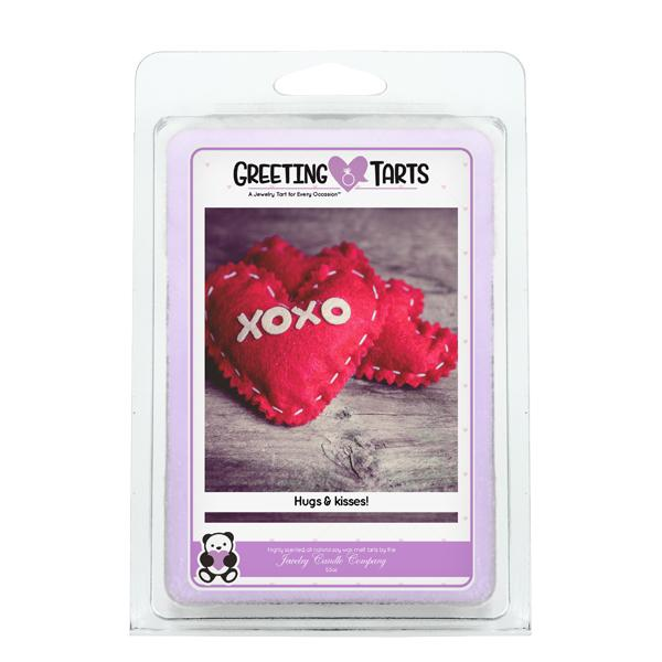 Xoxo Hugs & Kisses! | Greeting Tart-Greeting Tarts-The Official Website of Jewelry Candles - Find Jewelry In Candles!