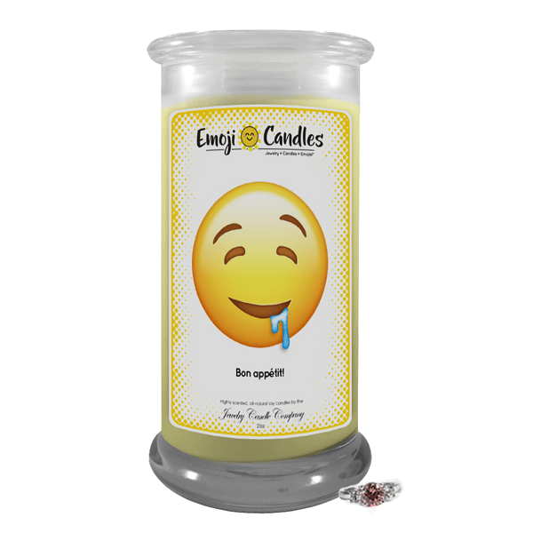 Bon appétit! | Emoji Candle®-Emoji Candles-The Official Website of Jewelry Candles - Find Jewelry In Candles!