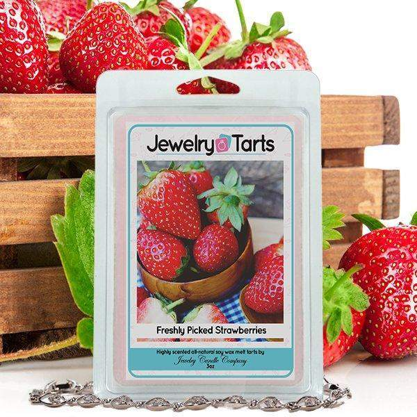 Freshly Picked Strawberries | Jewelry Tart®-Freshly Picked Strawberries Jewelry Tarts-The Official Website of Jewelry Candles - Find Jewelry In Candles!