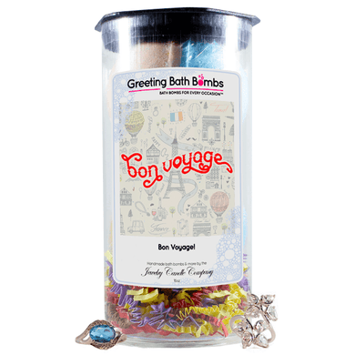 Bon Voyage! | Greeting Bath Bombs®-Jewelry Bath Bombs-The Official Website of Jewelry Candles - Find Jewelry In Candles!