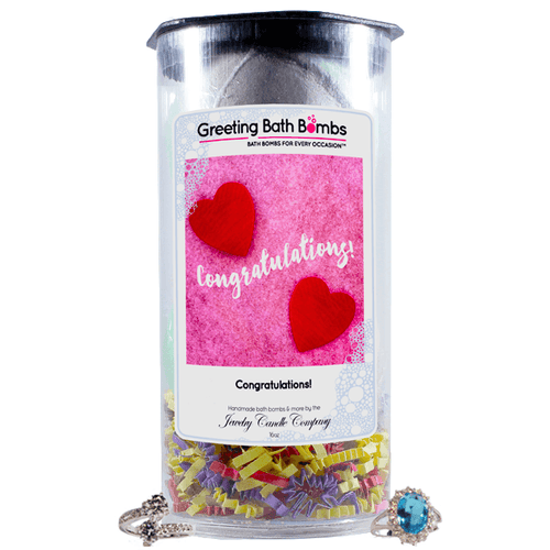 Congratulations! | Greeting Bath Bombs®-Jewelry Bath Bombs-The Official Website of Jewelry Candles - Find Jewelry In Candles!