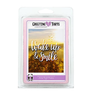 Wake Up & Smile | Greeting Tart-Greeting Tarts-The Official Website of Jewelry Candles - Find Jewelry In Candles!