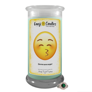 Gimme some sugar! | Emoji Candle®-Emoji Candles-The Official Website of Jewelry Candles - Find Jewelry In Candles!
