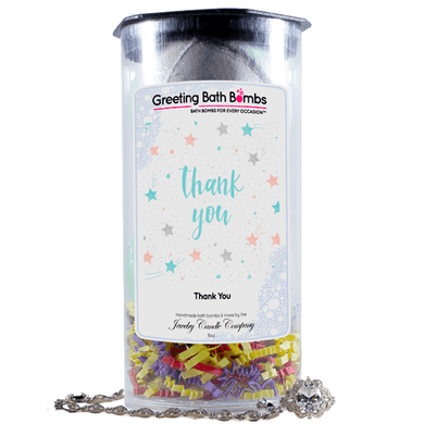 Thank You | Greeting Bath Bombs®-Jewelry Bath Bombs-The Official Website of Jewelry Candles - Find Jewelry In Candles!