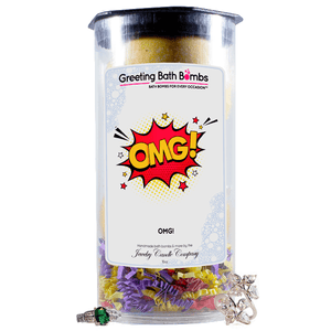 OMG! | Greeting Bath Bombs®-Jewelry Bath Bombs-The Official Website of Jewelry Candles - Find Jewelry In Candles!