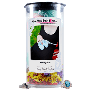 Mommy To Be | Greeting Bath Bombs®-Jewelry Bath Bombs-The Official Website of Jewelry Candles - Find Jewelry In Candles!