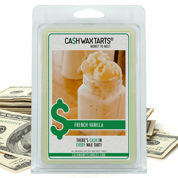 French Vanilla | Cash Wax Melt-Cash Wax Melts-The Official Website of Jewelry Candles - Find Jewelry In Candles!