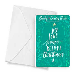Joy, Love, Peace, Believe, Christmas | Jewelry Greeting Cards®-Jewelry Greeting Cards-The Official Website of Jewelry Candles - Find Jewelry In Candles!