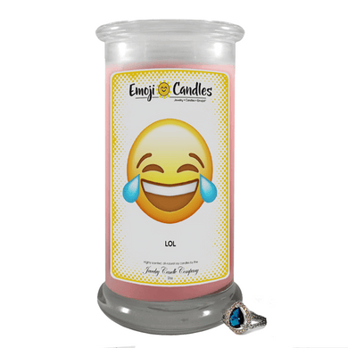 LOL | Emoji Candle®-Emoji Candles-The Official Website of Jewelry Candles - Find Jewelry In Candles!