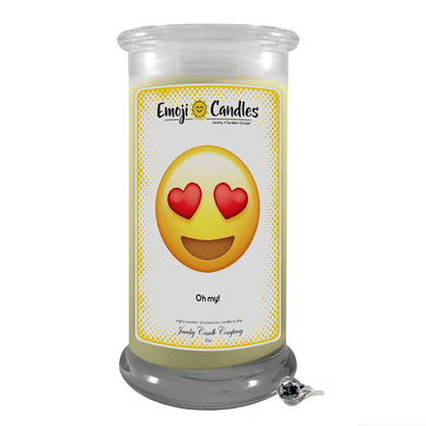 Oh my! | Emoji Candle®-Emoji Candles-The Official Website of Jewelry Candles - Find Jewelry In Candles!