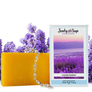 Lavender Seashore | Jewelry Soap-Jewelry Soaps-The Official Website of Jewelry Candles - Find Jewelry In Candles!