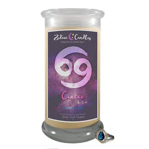Cancer | Zodiac Jewelry Candle-Zodiac Sign Jewelry Candles-The Official Website of Jewelry Candles - Find Jewelry In Candles!