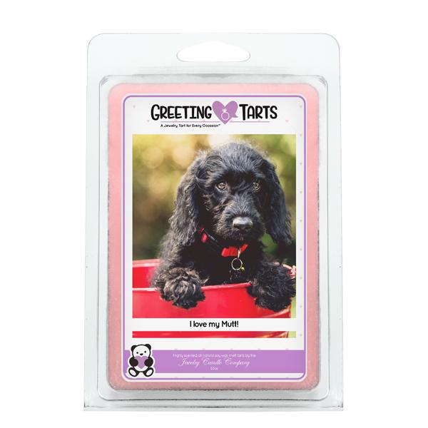 I Love My Mutt! | Greeting Tart-Greeting Tarts-The Official Website of Jewelry Candles - Find Jewelry In Candles!