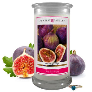 Brown Sugar & Figs | Jewelry Candle®-Jewelry Candles-The Official Website of Jewelry Candles - Find Jewelry In Candles!