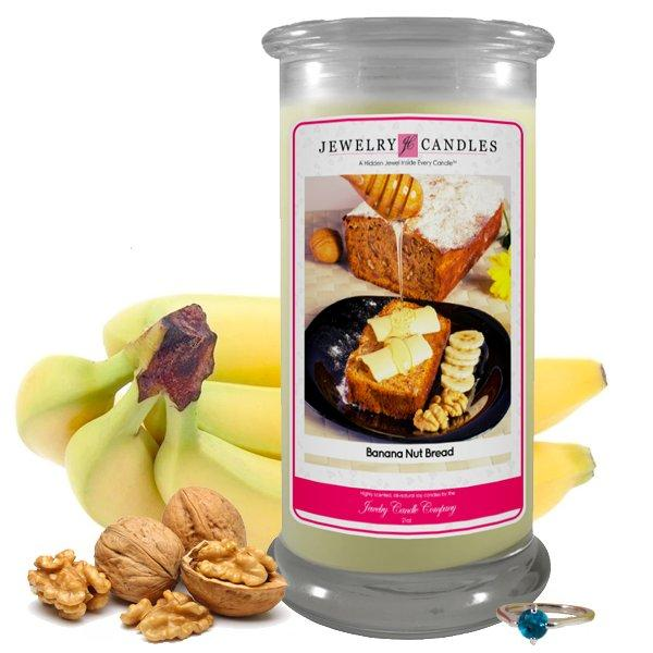 Banana Nut Bread | Jewelry Candle®-Jewelry Candles-The Official Website of Jewelry Candles - Find Jewelry In Candles!