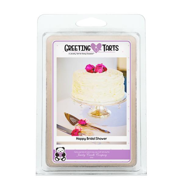 Happy Bridal Shower | Greeting Tart-Greeting Tarts-The Official Website of Jewelry Candles - Find Jewelry In Candles!