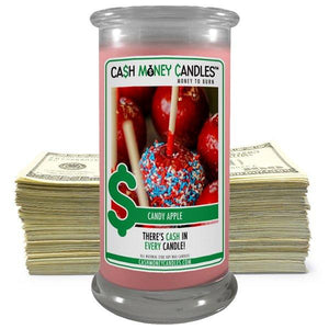 Candy Apple | Cash Money Candle®-Cash Money Candle-The Official Website of Jewelry Candles - Find Jewelry In Candles!