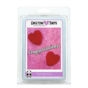 Congratulations | Greeting Tart-Greeting Tarts-The Official Website of Jewelry Candles - Find Jewelry In Candles!