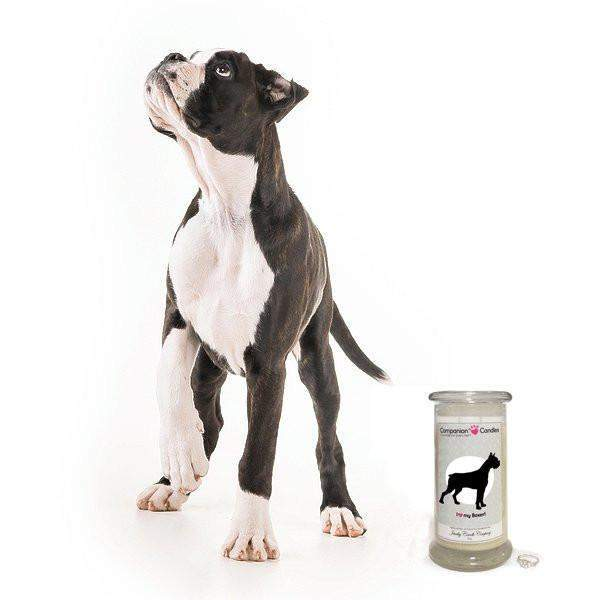 I Love My Boxer! - Companion Candles-Companion Candles-The Official Website of Jewelry Candles - Find Jewelry In Candles!