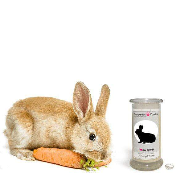 I Love My Bunny! - Companion Candles-Companion Candles-The Official Website of Jewelry Candles - Find Jewelry In Candles!
