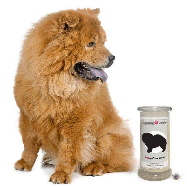 I Love My Chow Chow! - Companion Candles-Companion Candles-The Official Website of Jewelry Candles - Find Jewelry In Candles!