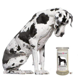 I Love My Great Dane! - Companion Candles-Companion Candles-The Official Website of Jewelry Candles - Find Jewelry In Candles!
