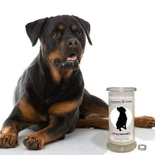 I Love My Rottweiler! - Companion Candles-Companion Candles-The Official Website of Jewelry Candles - Find Jewelry In Candles!