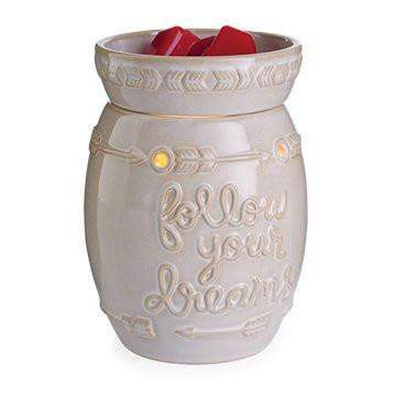 Jewelry Tart Warmer - Follow Your Dreams-Jewelry Tart Warmer-The Official Website of Jewelry Candles - Find Jewelry In Candles!