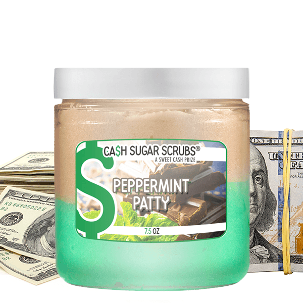 Peppermint Patty | Cash Sugar Scrub®-Cash Sugar Scrubs-The Official Website of Jewelry Candles - Find Jewelry In Candles!
