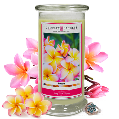 Plumeria | Jewelry Candle-The Official Website of Jewelry Candles - Find Jewelry In Candles!