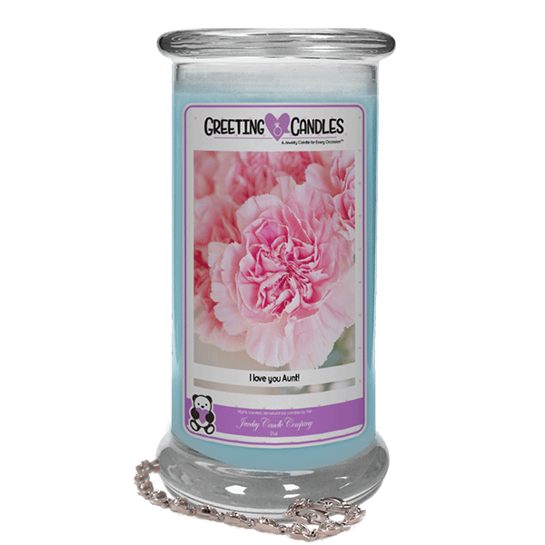 I love my Aunt! | Jewelry Greeting Candles-I love my Aunt! - Jewelry Greeting Candles-The Official Website of Jewelry Candles - Find Jewelry In Candles!