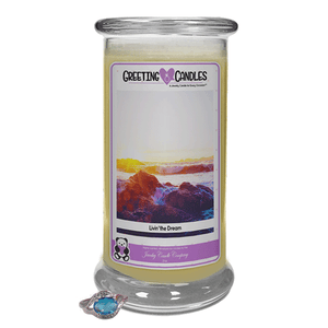 Livin' The Dream | Jewelry Greeting Candles-Jewel Candles-The Official Website of Jewelry Candles - Find Jewelry In Candles!