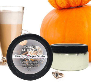 Pumpkin Spice Latte Jewelry Sugar Scrub-The Official Website of Jewelry Candles - Find Jewelry In Candles!