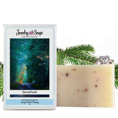 Spruced Forest | Jewelry Soap-Jewelry Soaps-The Official Website of Jewelry Candles - Find Jewelry In Candles!