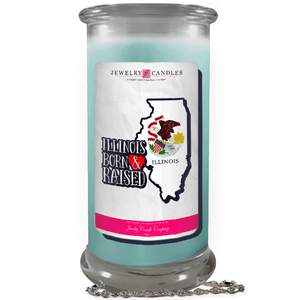 Illinois | Born & Raised Candles-The Official Website of Jewelry Candles - Find Jewelry In Candles!