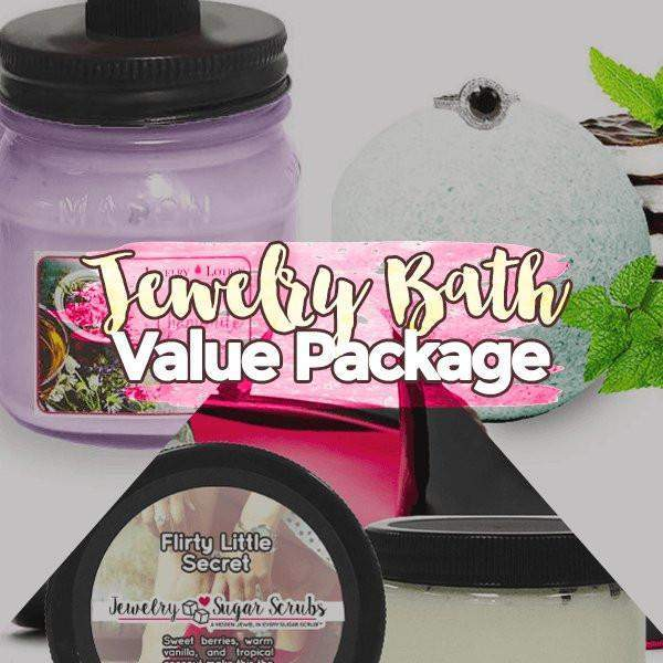 Create Your Own Jewelry Bath & Body Value Bundle-Jewelry Candles Bath & Body-The Official Website of Jewelry Candles - Find Jewelry In Candles!